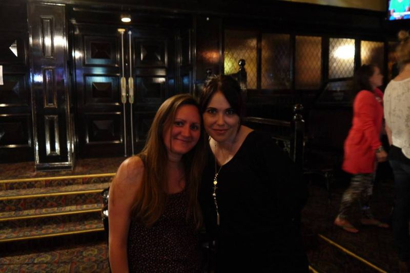 Amy with Libby Kennedy (Kym Valentine)