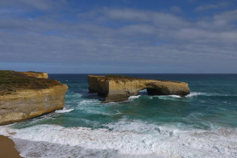 London Bridge Rock Formation on the Ocean Road