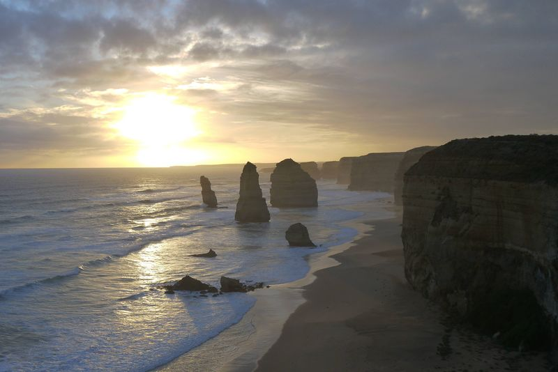The 12 Apostles, the Great Ocean Road