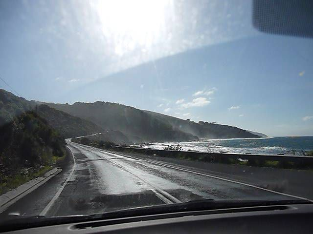 Driving the Great Ocean Road, Australia