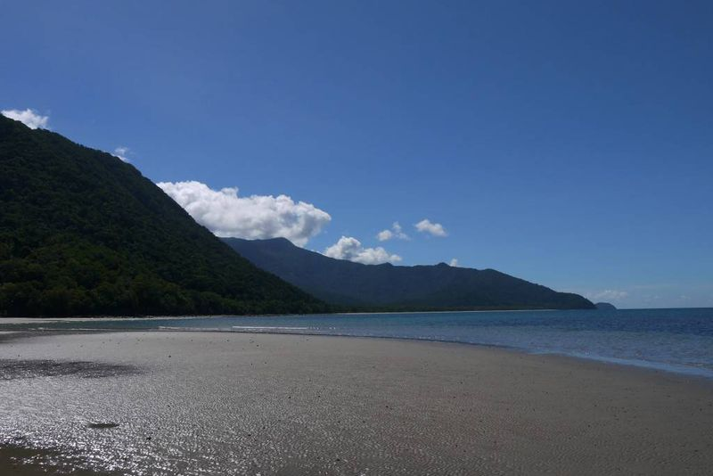 Deserted Beach at Cape Tribulation