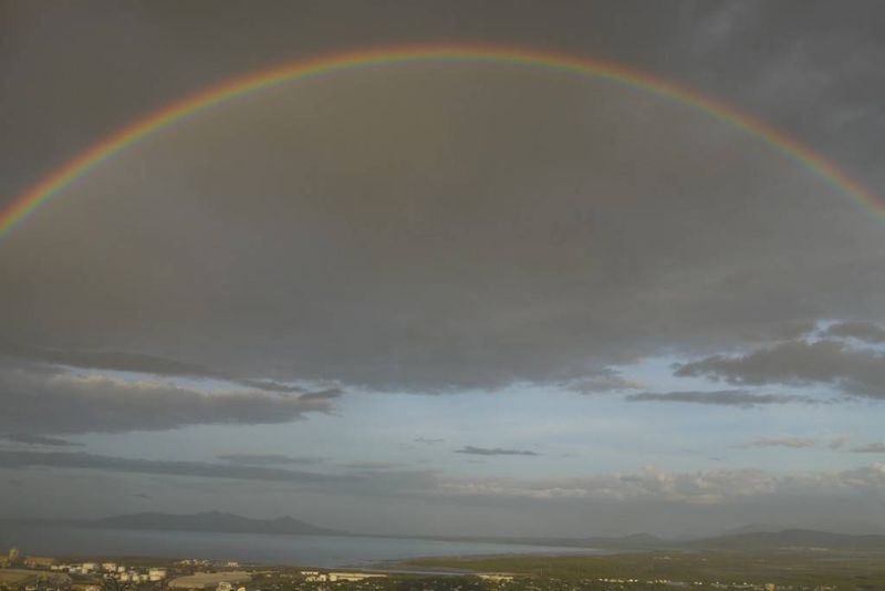 Rainbow over Townsville, Australia