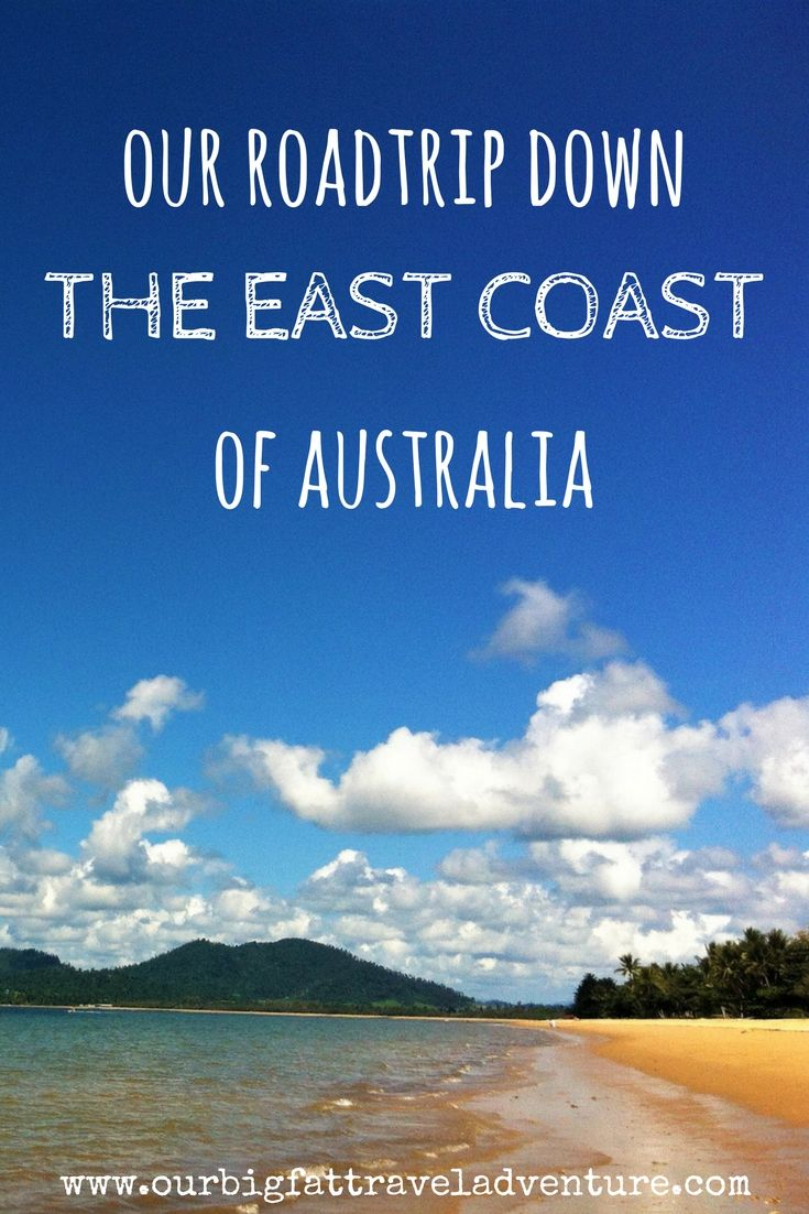 our roadtrip down the east coast of australia Pinterest pin