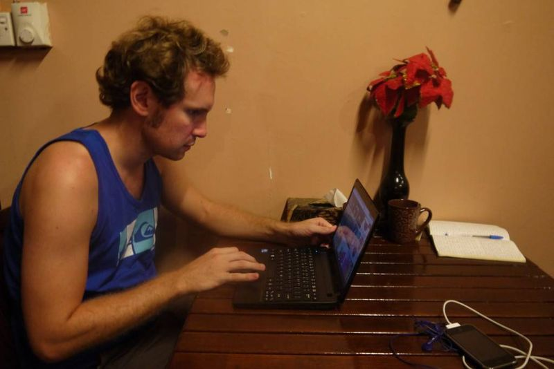 Andrew and the Acer Aspire One
