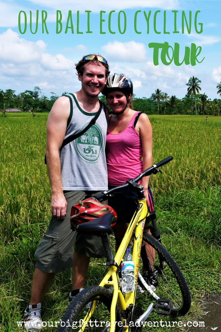 Our Bali Eco Cycling Tour was one of the highlights of our trip to Indonesia; here's how it went, from breakfast overlooking a volcano to visiting a plantation to cycling through the rice paddies.