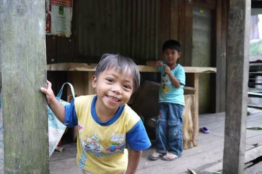 Cute Little Boy in Banaue, the Philippines
