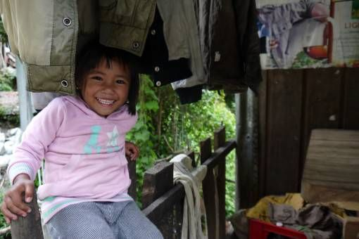 Cute Kid in Banaue, the Philippines