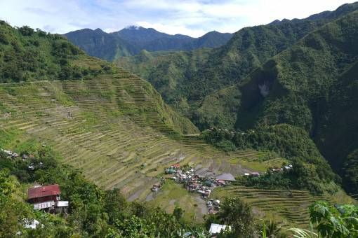 The Batad Rice Terraces, the Philippines