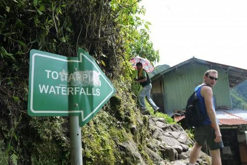 Hiking to Tappia Falls, the Philippines