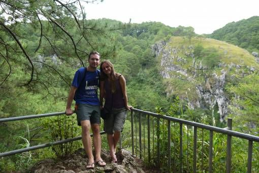 Us in Sagada, the Philippines