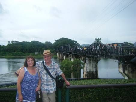 My Parents by the River Kwai, Kanchanaburi