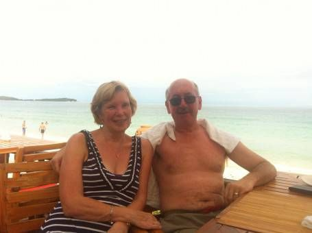 Andrew's Parents in Koh Samui