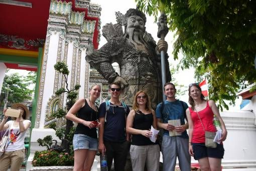 Travel Companions in Bangkok
