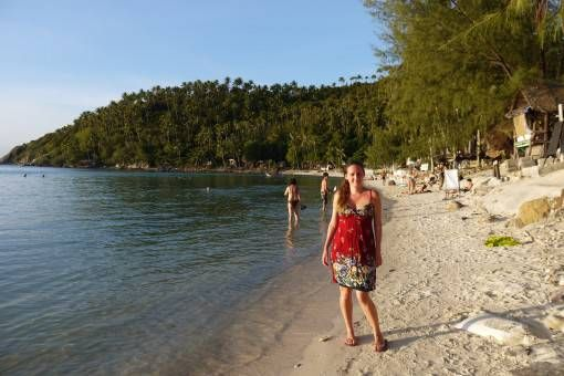 Amy in Haad Salad, Koh Phangan Thailand