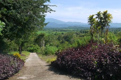 View of Pai, Thailand