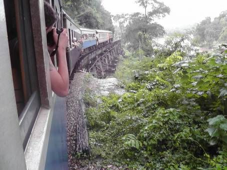 A trip on The Death Railway, Thailand