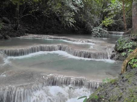Tier One at Erawan Waterfall, Kanchanaburi