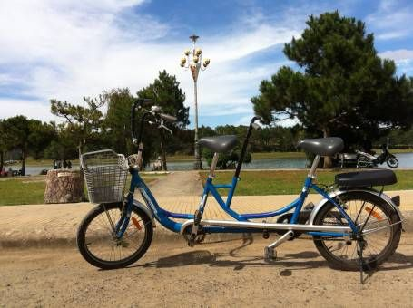 Our tandem bike