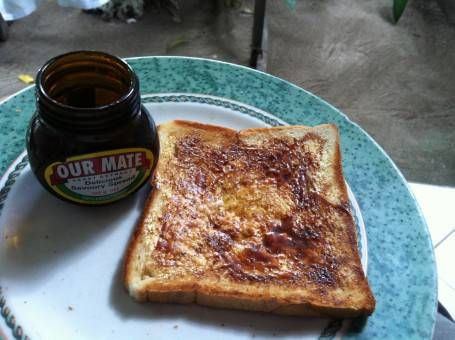 Marmite - one of our essential travel items