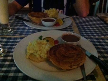 Pie and Mash at the UNIrish Pub, Chiang Mai