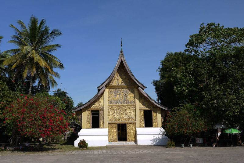 Temple in Luang Prabang, Laos