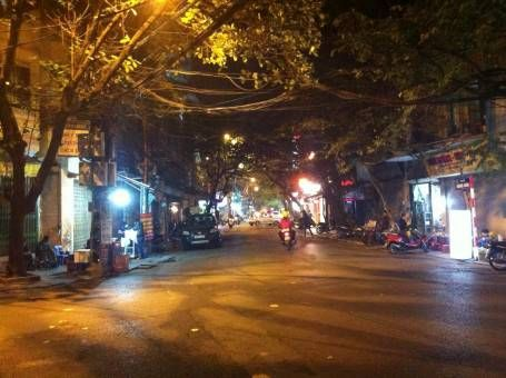 Hanoi Street at Night