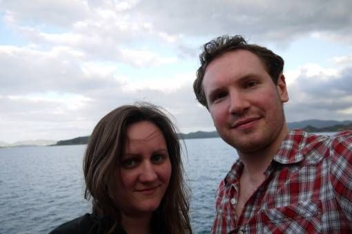 Us in the Bay of Islands, New Zealand