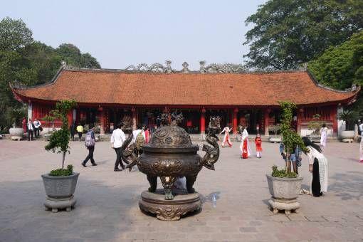 Literature Temple, Hanoi Vietnam