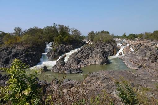 Waterfall on Don Khon