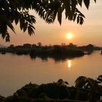 Don Det Sunset, 4000 Islands, Laos Video