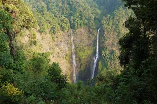Tad Fane Waterfall, Laos