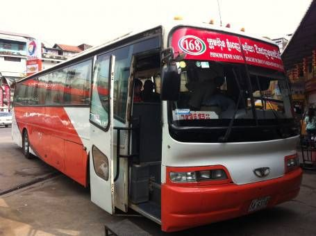 168 Sorya Bus from Phnom Penh