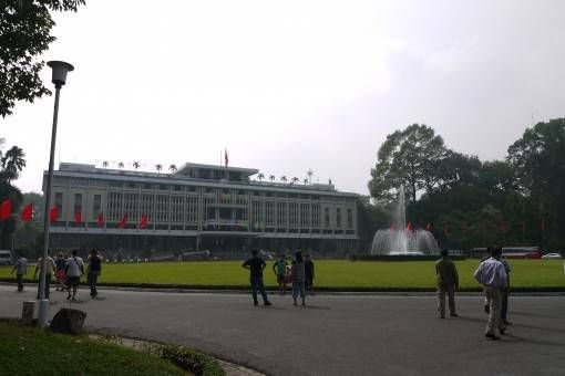 The Reunification Palace, Ho Chi Minh City