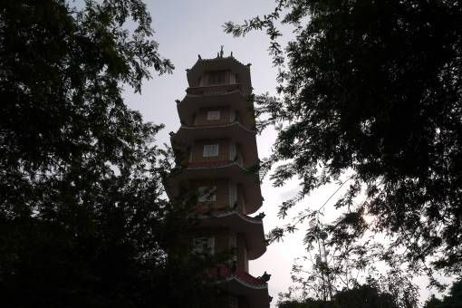 Pagoda in Ho Chi Minh City Vietnam