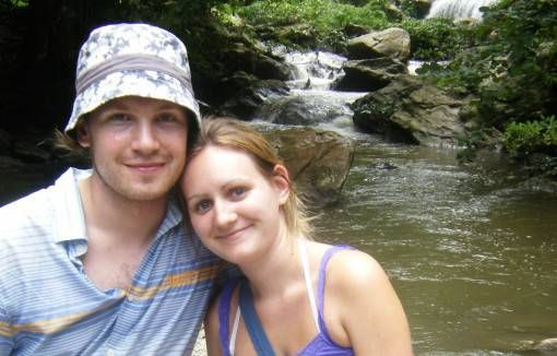 Us in Thailand in 2009