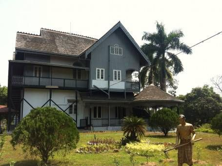 Childhood home of Aung San Suu Kyi