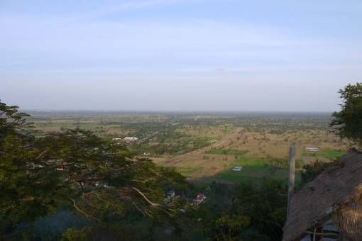 View of the Cambodian Countryside