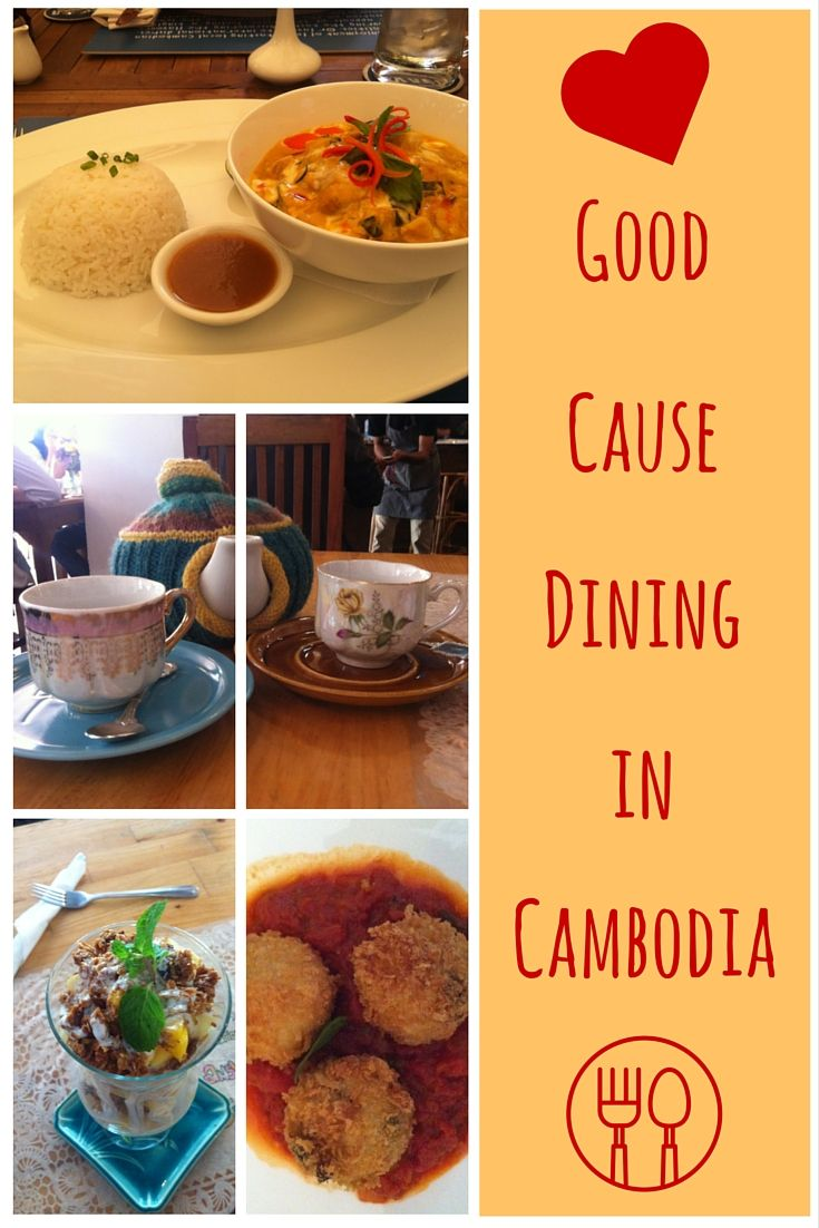 Good Cause Dining in Cambodia, Pinterest