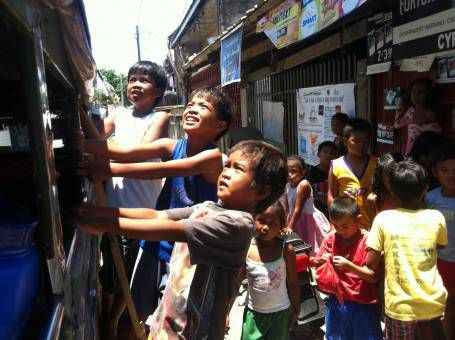 Kids in Tacloban City, Leyte