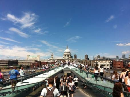 View of St Paul's Cathedral from the Southbank