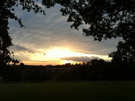 Sunset over Streatham Common