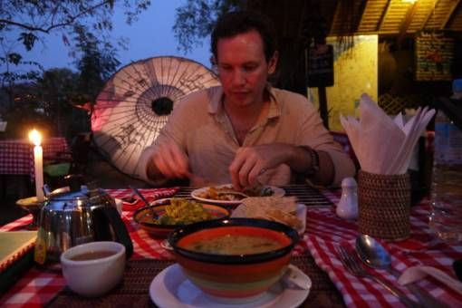 Dinner at Be Kind to Animals in Bagan