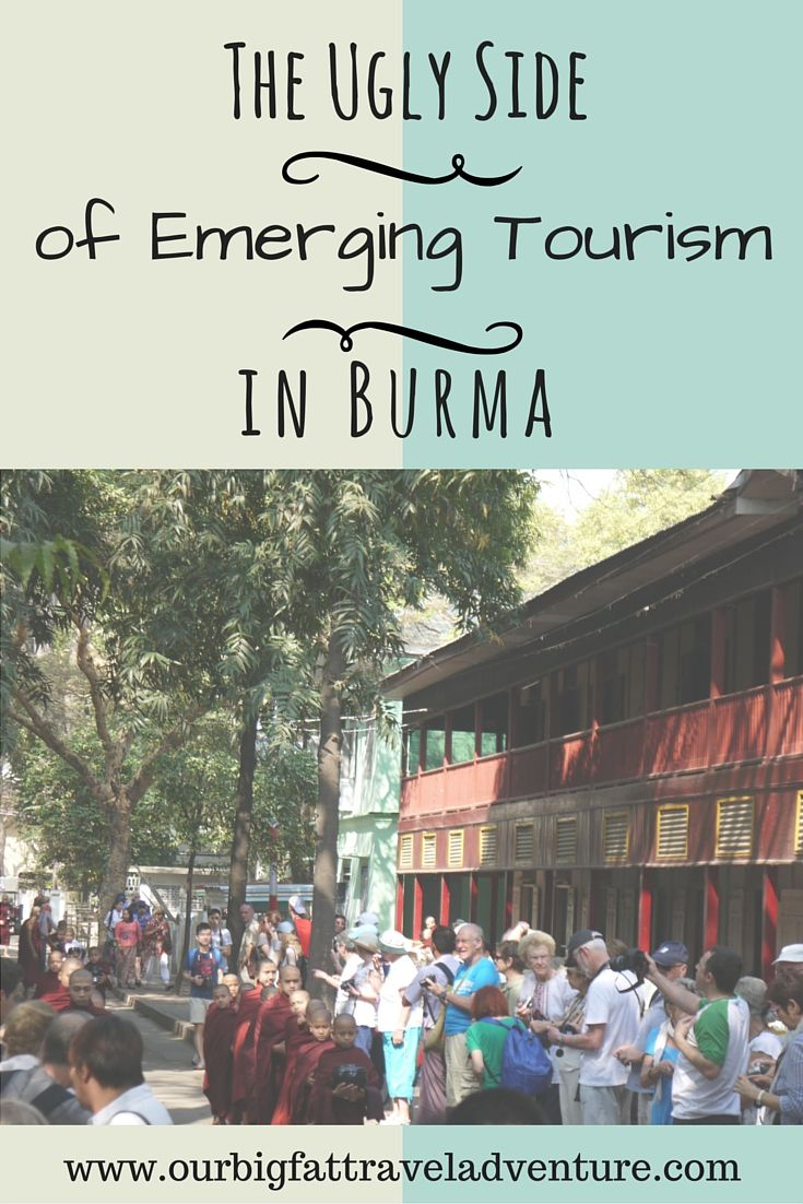The ugly side of emerging tourism in Burma, Pinterest