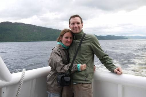 Us on a Boat Trip on Loch Ness