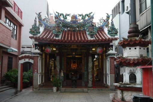 Small Temple in Tainan, Taiwan