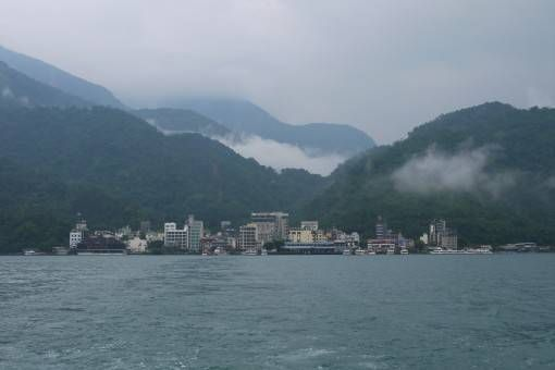 View of Sun Moon Lake in Taiwan