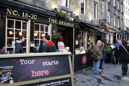The Edinburgh Literary Pub Tour