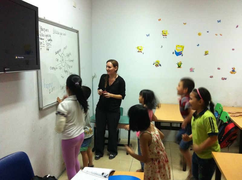 An English Class in Vietnam