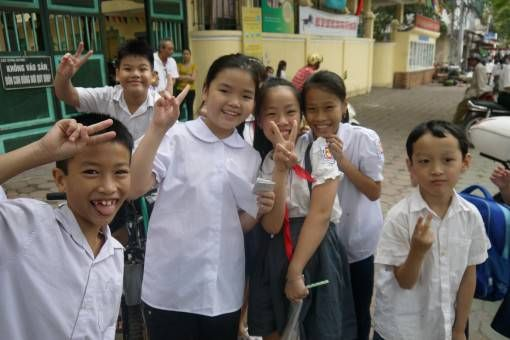 The School Kids we Teach in Vietnam