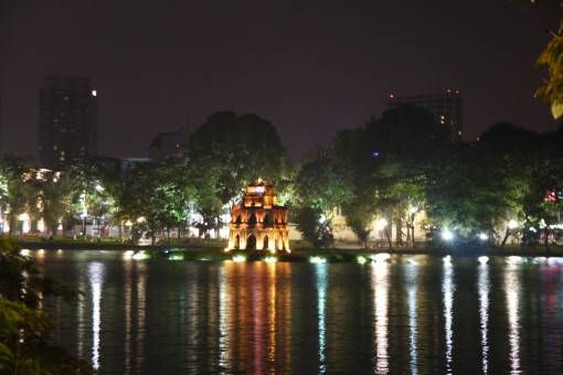 Hoan Kiem Lake by Night